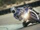 Kurvenfahrt mit dem Sportbike Yamaha YZF-R3, Modelljahr 2016