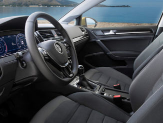 Innenraum des Pkw VW Golf