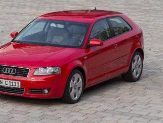 Produktionsjubiläum am Audi-Standort Ingolstadt: Vor genau 20 Jahren, am 18. September 1995, ist hier der erste Audi A3 vom Band gefahren. Im Bild ein roter A3 der zweiten Generation (8P).