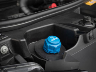 Schraubverschluss des Adblue-Tanks des Mercedes-Benz Sprinter 2018. Technische Daten: 316 CDI, Pritsche, Exterieur, Tenoritgrau metallic