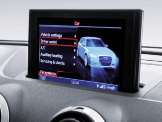 Audi A3 MMI Display MMI Navigation plus, CAR-Menü