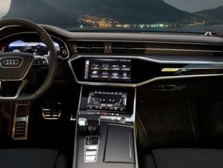 Cockpit eines Audi A7 Sportback von 2018.