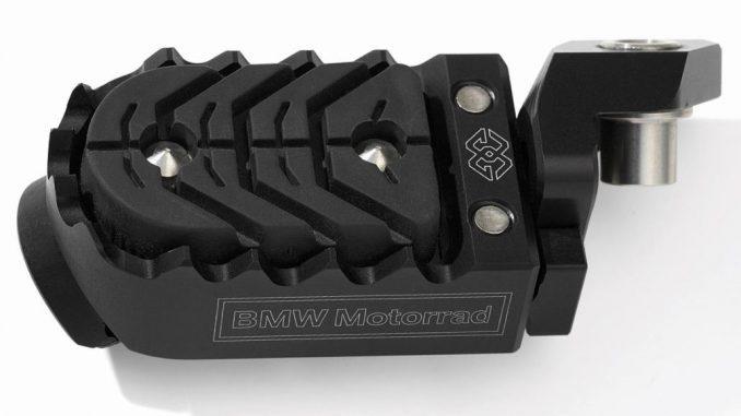 BMW Motorrad: Fußraste verstellbar schwarz Teilenumern: 77 25 2 452 958; 77 25 2 452 960; 77 25 2 465 256