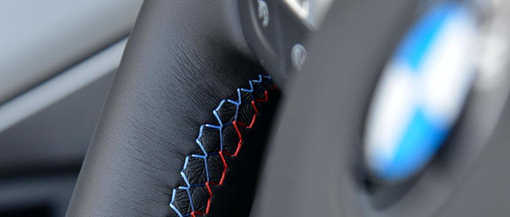 Großaufnahme Lenkrad F12M · BMW M · M6 · Cabrio Juni 2012