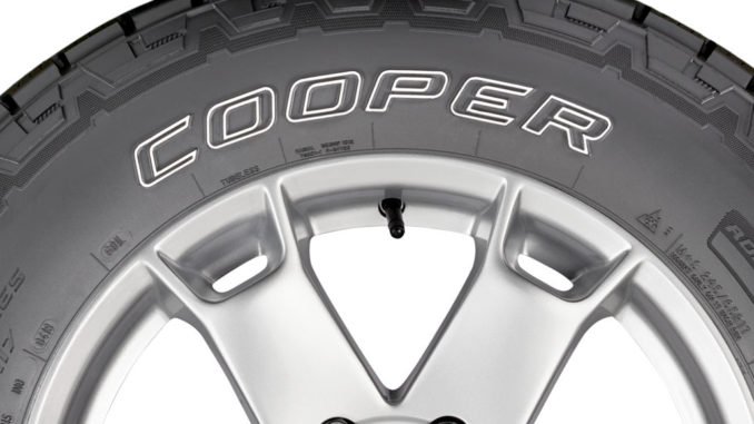 New Cooper discoverer AT3™ tire line displayed at the Tire Cologne 2018.