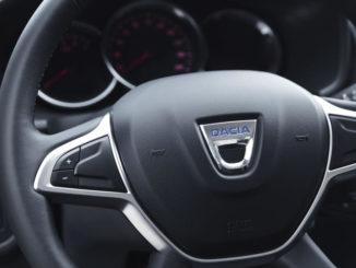 Logan MCV, Innenraum, Lenkrad, Dacia, 2017