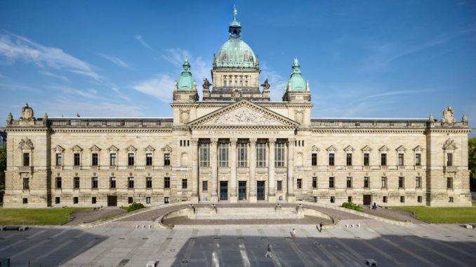 Dienstsitz des Bundesverwaltungsgerichts in Leipzig.