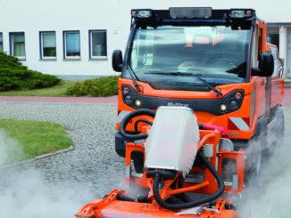 Multicar M31 EURO VI Wildkrautbeseitigung Geräteträger Transporter