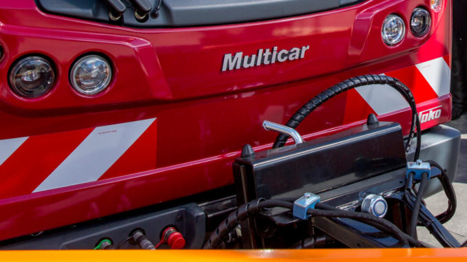 Multicar M27compact in rot..
