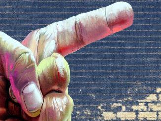 finger fingerzeig deuten deutung hinweis zeigen