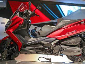 kymco_new_downtown auf der Messe EICMA