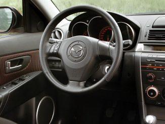 Mazda3 Interieurprogramm, Baujahr 2003