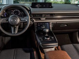 Mazda MX-30, 2020, Industrial Vintage, Innenaufnahme