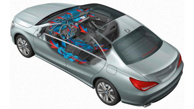 Mercedes-Benz CLA-Klasse: Serienmäßig an Bord jeder CLA-Klasse ist die manuelle Klimaanlage THERMATIC. Als Wunschausstattung ist die Zwei-Zonen-Klimaautomatik THERMOTRONIC erhältlich. Veröffentlichungsdatum: 06.03.2013