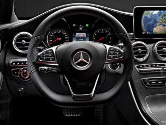 Mercedes-Benz C-Klasse Limousine (W205) 2014, Interieur.