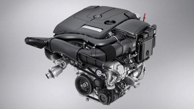 4-Zylinder Benzinmotor, M274, im Mercedes-Benz GLC anno 2015