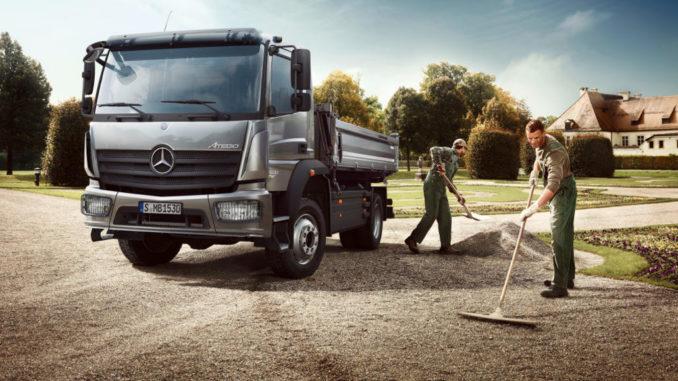 Mercedes-Benz Atego, Baufahrzeug Mercedes-Benz Trucks: Lkw nach Maß für die Baubranche Veröffentlichungsdatum 21.01.2016