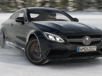 Spieler driften mit dem Mercedes-AMG C63 Coupé S in Project Cars 2