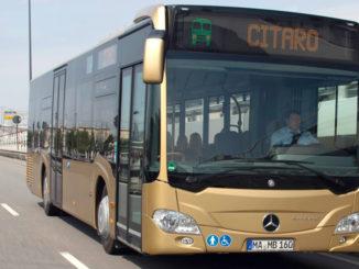 Der Stadtbus Mercedes-Benz Citaro Solo. Vertragsunterzeichnung für Großauftrag: 600 Mercedes-Benz Citaro Busse für den saudischen Stadtverkehr in Riad Veröffentlichungsdatum3 0.05.2017