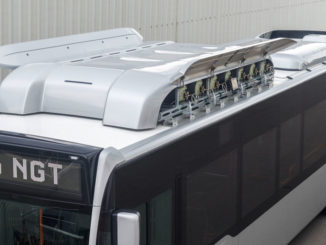 Daimler Buses Vorschau Busworld Kortrijk 2015: Mercedes-Benz Citaro NGT, Dachtanks für Erdgas