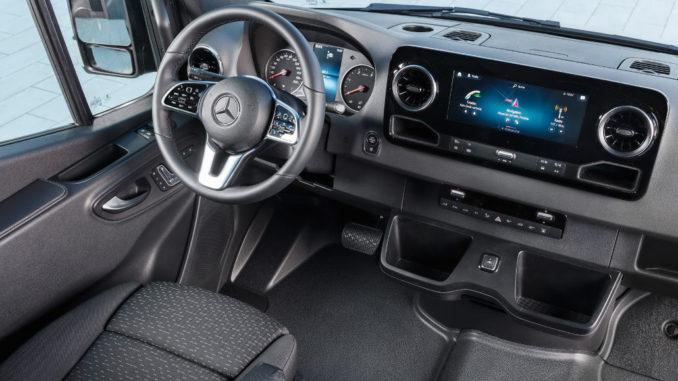 Mercedes-Benz Sprinter (BR 907/910) – Interieur: Veröffentlichungsdatum: 06.02.2018
