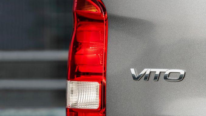 Mercedes-Benz Vito Kastenwagen – Exterieur, Selenitgrau metallic, fotografiert 2020