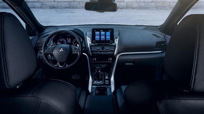 Innenraum des Eclipse Cross Plug-in Hybrid von Mitsubishi Motors