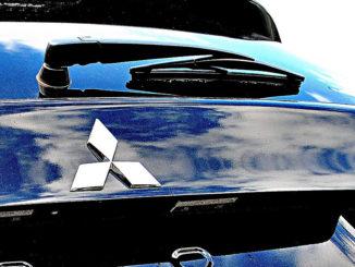 Logo heck rücklichter mitsubishi