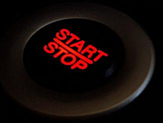 start stop knopf button design computer berühren