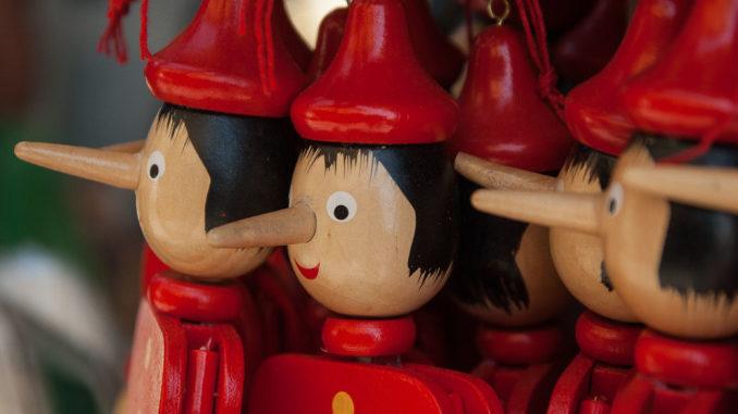 italien pinocchio marionette Fabelwesen Holzkopf