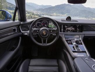 Porsche Panamera Turbo: Interieur, aufgenommen Oktober 2016