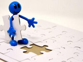 figur puzzle letztes teil erfolg vollenden