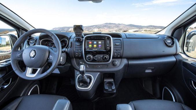 Trafic, Modellpflege, Leichtes Nfz, Innenraum, Renault, 2019