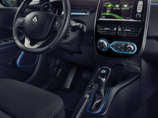Innenraum, ZOE, Elektroauto, Zero Emission, Elektroantrieb, R-Link Evolution, Renault, 2017