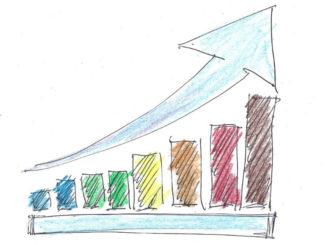zeichnung pfeil erfolg business finanzen gewinn