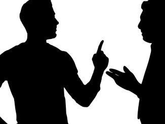 argument mann wütend silhouette