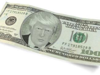 trump dollar handel angebot symbol geld